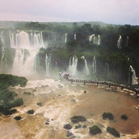 ทางเดินของบราซิล เปียกกกก พี่กั้ง