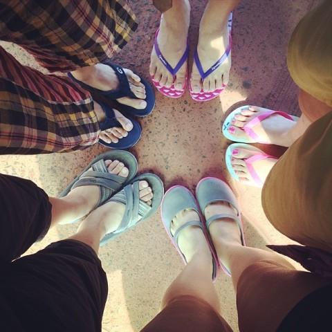รองเท้าในวันนี้ อีกัวซู อาร์เจนตินา