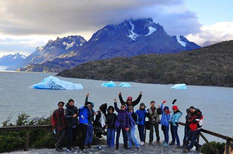 สิ้นสุดทางเดิน จุดใกล้ธารน้ำแข็งที่สุดของฝั่งชิลี ขออภัยไม่แน่ใจว่ากล้องใครค่า น่าจะโอ๊ตนะ