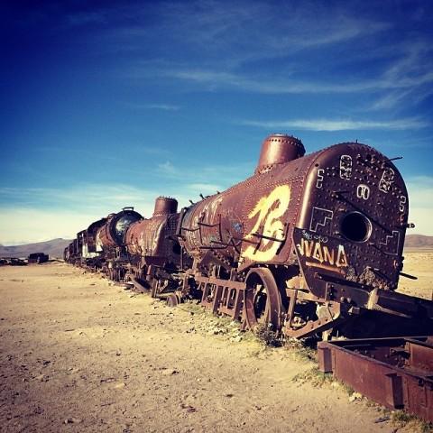 สุสานรถไฟ CR พี่กั้ง