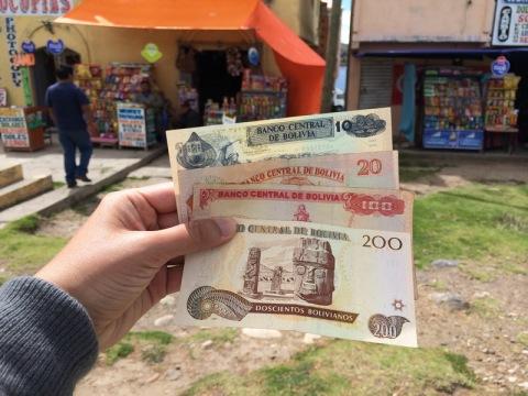 เงินโบลิเวีย