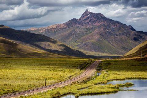 ทางรถไฟระหว่าง Cusco-Puno CR พี่ติ่ง