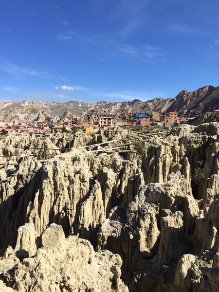 Valley De La Luna, Lapaz, Bolivia