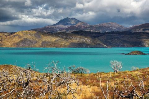 Lago Pehoe CR พี่ติ่ง