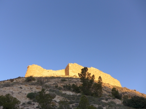 Sunset at Shobak Castle