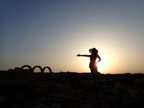 Sunset at Um Arasa