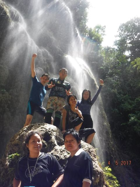 Oslob Tumalog fall grout